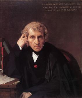 Portrait of the composer Luigi Cherubini (1760-1842)