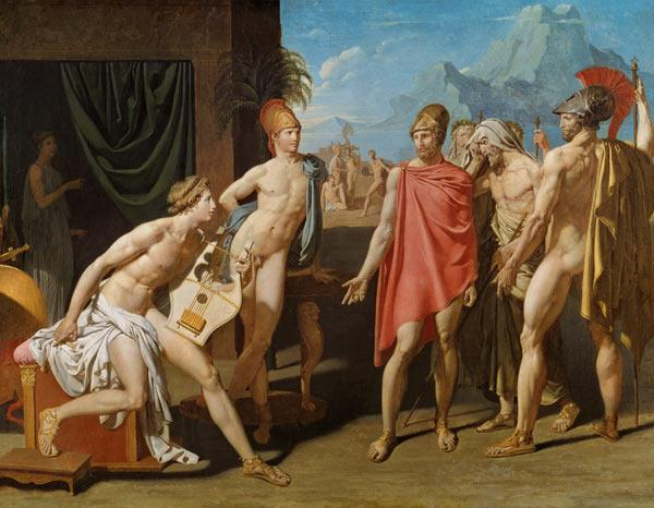 Ambassadors Sent by Agamemnon to Urge Achilles to Fight