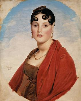 Portrait of the madam Aymon (Laly barks Zélie)
