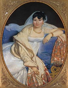 Portrait of the madam Rivière