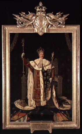 Portrait of Charles X (1757-1836) in Coronation Robes