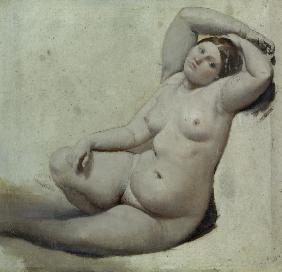 Ingres, Jean Auguste Dominique : Study for Turikish Bath