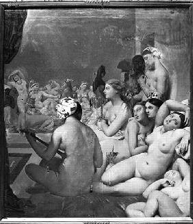 Ingres, Jean Auguste Dominique : The Turkish Bath, 7th Octo...