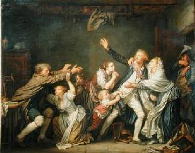 Greuze, Jean Baptiste : The Father's Curse or The ...