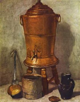 Chardin, Jean-Baptiste Sim�on : The water container