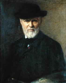 Portrait of Jean-Jacques Henner (1829-1905)