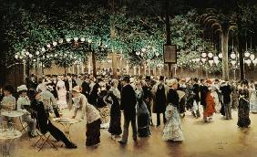The ball in the park