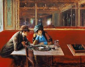 Beraud, Jean : At the Cafe