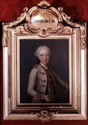Archduke Karl Joseph (1745-61) son of Emperor Francis I (1708-65) and Empress Maria Theresa of Austr