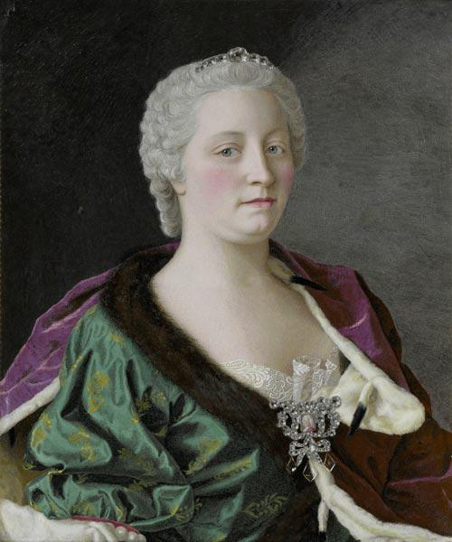 Portrait of Empress Maria Theresia of Austria (1717-1780)