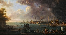 View of the Port of Lorient