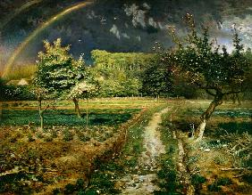 Spring landscape with rainbows (Le Printemps) 1868/1873