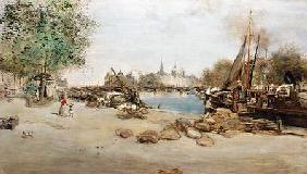 The Port St.Nicolas in Paris