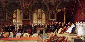 Reception of the Ambassadors of Siam by Napoleon III at the Palace of Fontainebleau on June 27, 1861