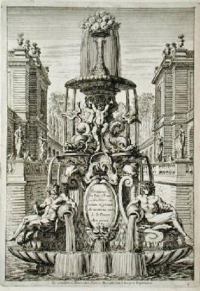 Title page from 'Fountain and Waterjets in the Italian Style'