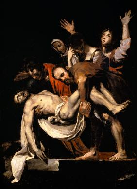 Burial Christi. To Caravaggio.