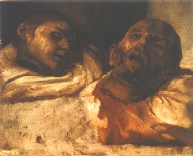 G�ricault, Jean Louis Th�odore : Decapitate of prepared