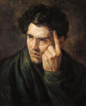 G�ricault, Jean Louis Th�odore : Portrait of Lord Byron (17...