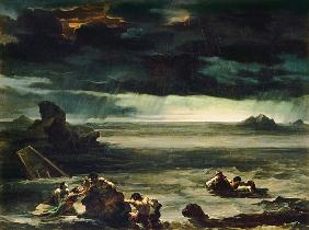 Scene of the Deluge