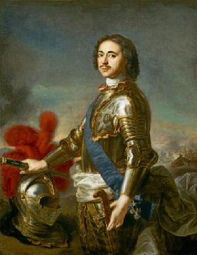 Portrait of Peter I or Peter the Great