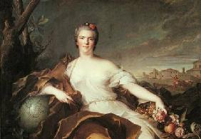 Madame Louise-Elisabeth de France (1727-59) Duchess of Parma, Symbolising Earth