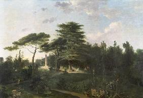 The Cedar of Lebanon in the Jardin des Plantes