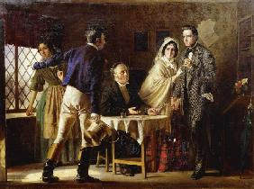 A marriage in Gretna Green