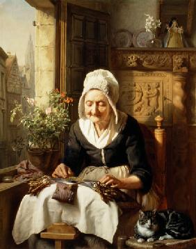 J.L. Dyckmans - The Old Lacemaker