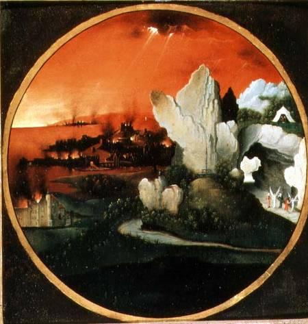 The Destruction of Sodom and Gomorrah - Joachim Patinir as ...
