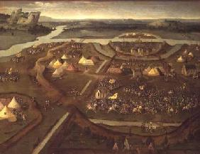 The Battle of Pavia in 1525