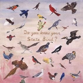 Do You Know Your State Bird?, 1996 (oil on canvas)