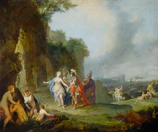 A  Tischbein - Dido and Aeneas Dido And Aeneas Cave