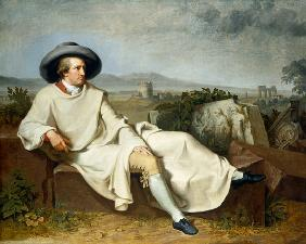 Goethe in the Roman Campagna.
