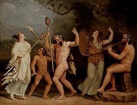 Dance of the fauns and M�naden