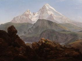 Dahl, Johan Christian Clausen : The Watzmann