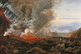 Dahl, Johan Christian Clausen : Outbreak of the Vesuvs