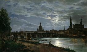 Dahl, Johan Christian Clausen : Look at Dresden at full mo...