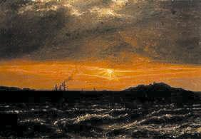 Dahl, Johan Christian Clausen : Off the Norwegian coast