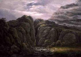 Dahl, Johan Christian Clausen : Norwegian Mountain Landsca...
