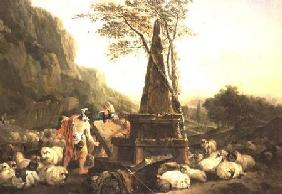 The Meeting of Jacob and Rachel at the Well