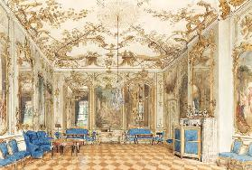 Concert Room of Sanssouci Palace in Potsdam