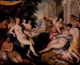 Diana and Callisto with nymphs