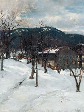 Winter landscape at Kuttering