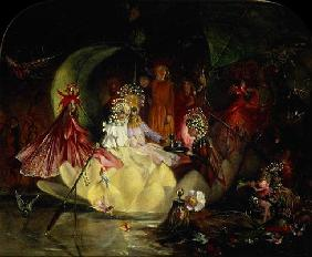 Fitzgerald, John Anster : The Marriage of Oberon and...