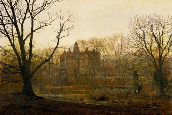 A Yorkshire Home John Atkinson Grimshaw As Art Print Or