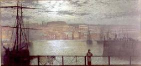 Grimshaw, John Atkinson : Whitby from Station Quay
