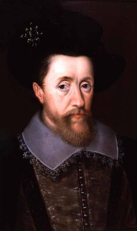NPG D16663; King James I of England and VI of Scotland