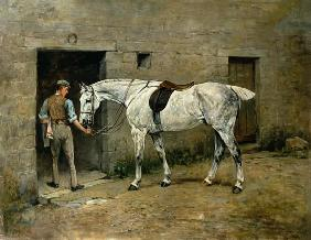 The Dapple Grey and Stable Lad