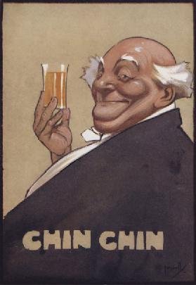 Chin Chin (colour litho)