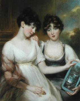 Portrait of Anne (1781-1857) and Maria (1782-1861) Russell